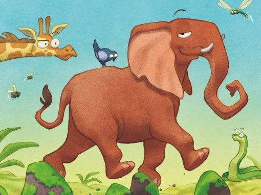 L'elefante che non cadeva mai