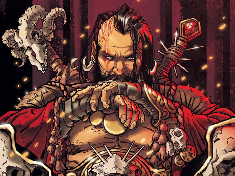 The barbarian king